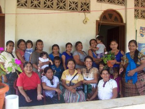 An ESPERA group in Honduras, managing a local community lending pool, involved heavily in women's human rights.
